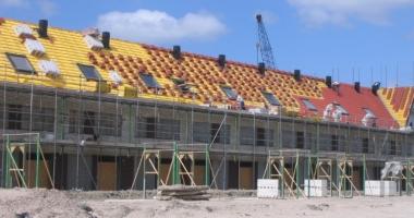 Nieuwbouw in uitvoering