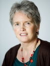 Passport photo of Lia van den Broek