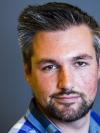 Passport photo of Evan Schaafsma