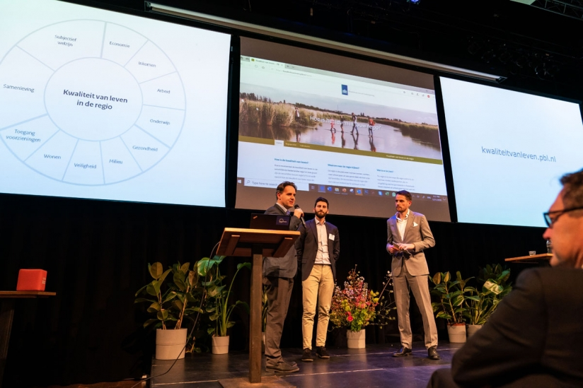 Presentatie website 'Hoe is het leven in jouw regio?'