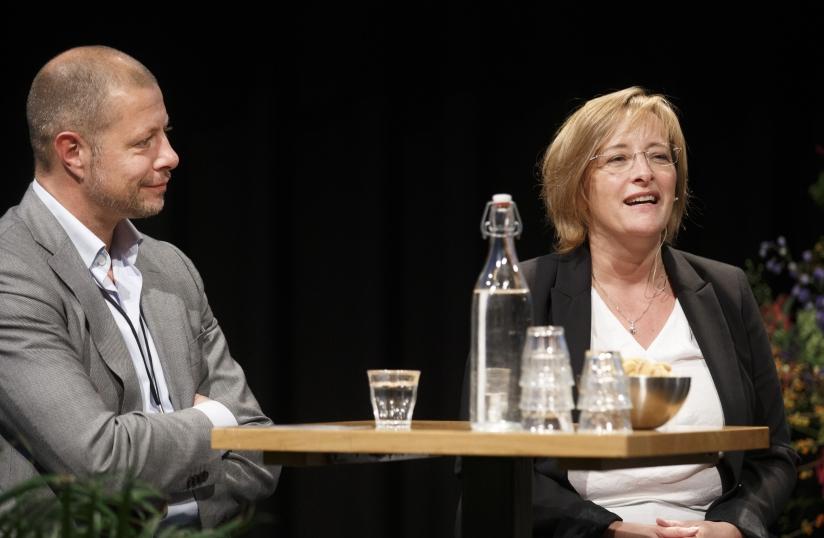 Mike Venekamp en Petra Kock