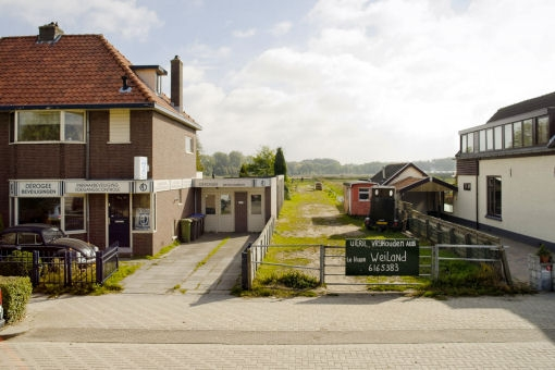 Foto: stadsrand in Dordrecht