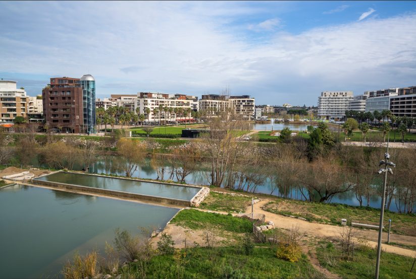 Photo nature in urban area, Montpellier, France