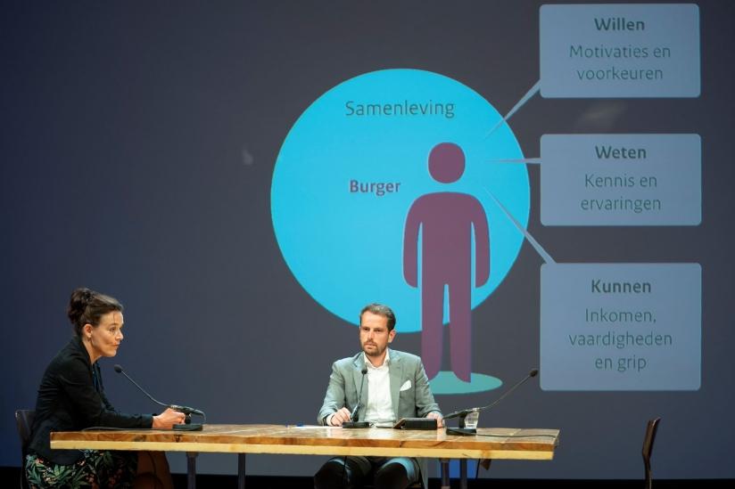 Presentatie door projectleider Jetske Bouma