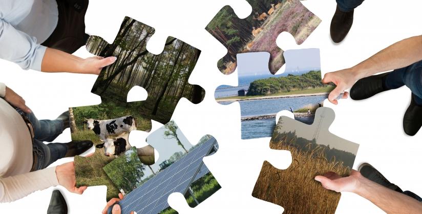 Puzzelen met stukjes natuur, economie en maatschappij