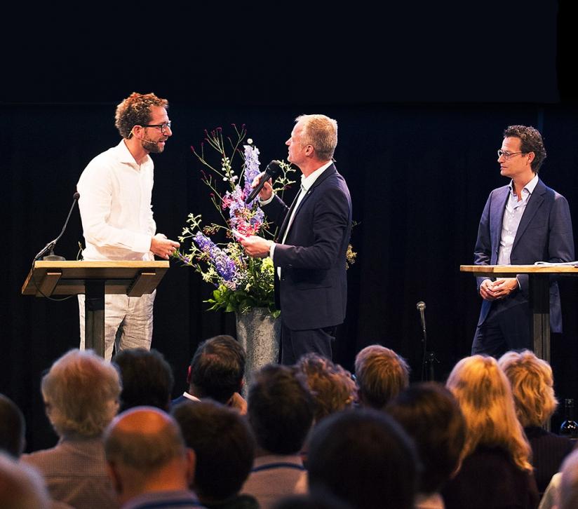 De auteurs van de Balans, Niels Sorel en Melchert Reudink, lichten de Balans toe