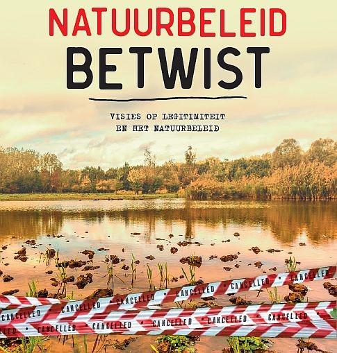 Cover Essaybundel Natuurbeleid betwist